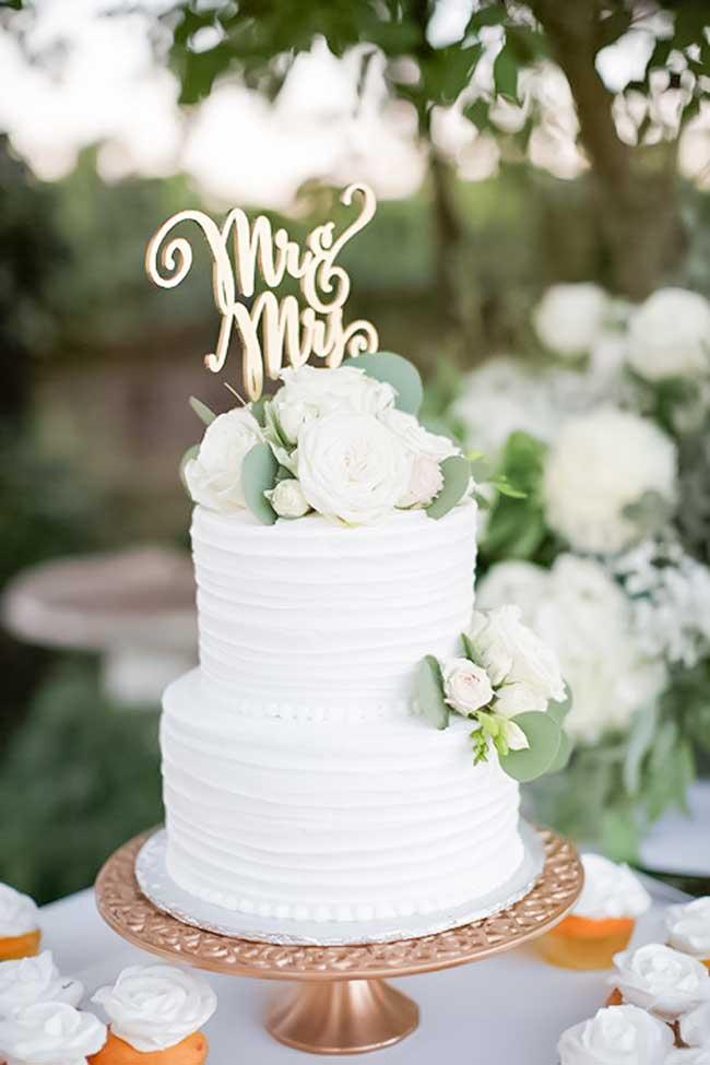 γαμήλιες τούρτες για το 2018