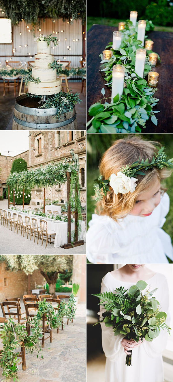 Θεματικές τάσεις γάμου πράσινο