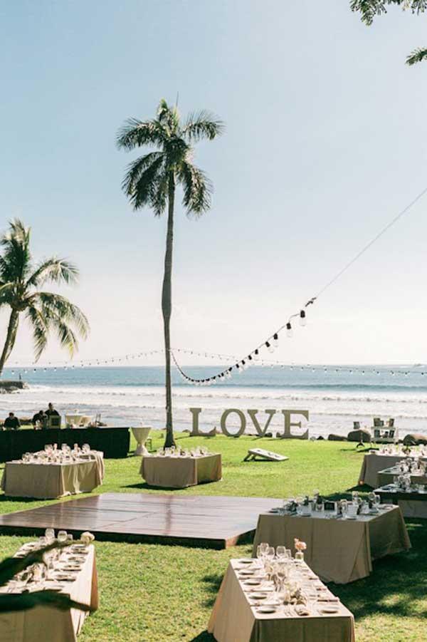 γάμος σε παραλία