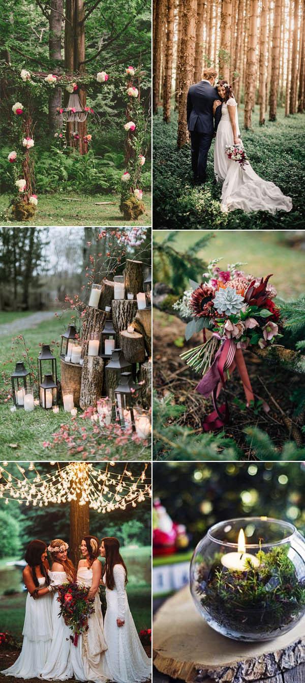 θεματικές τάσεις γάμου: Δάσος