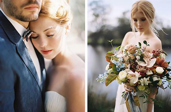 Μοντέρνος ρομαντικός γάμος - Ιδέες για τις πιο ρομαντικές νύφες.