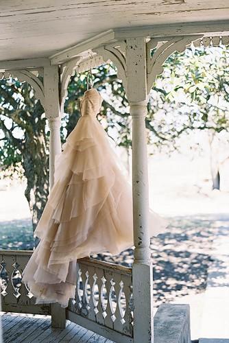 Φωτογράφιση της νύφης.
