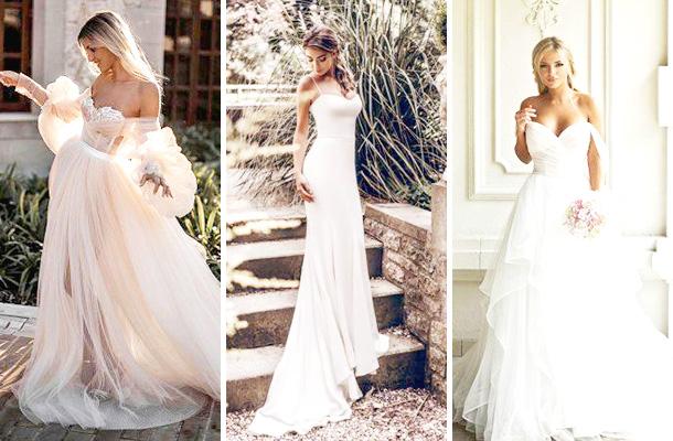 Ρομαντικά φορεματα γαμου