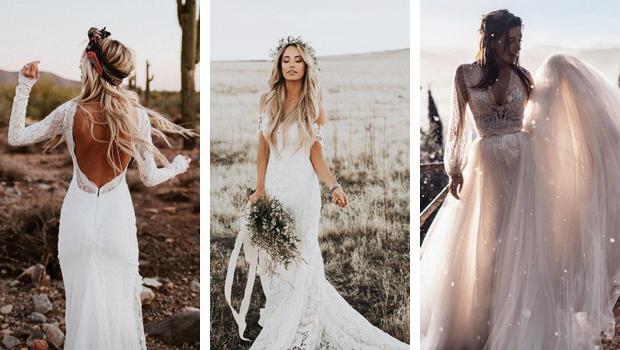 Φορεματα για γαμο ρουστικ, για μια νύφη που ξέρει να διαφέρει!