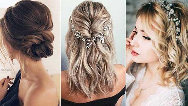 Νυφικο χτενισμα για καρε - 20 ιδέες για να δώστε στυλ στα μαλλιά σας.